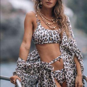 🆕 Spell Bodhi Leopard Crop Top
